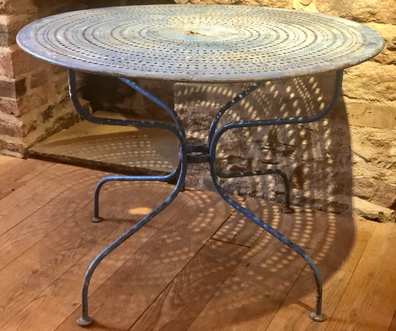Antique French Garden Table