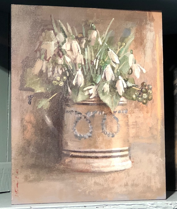'Snowdrops and Ivy' by Andrew Douglas-Forbes