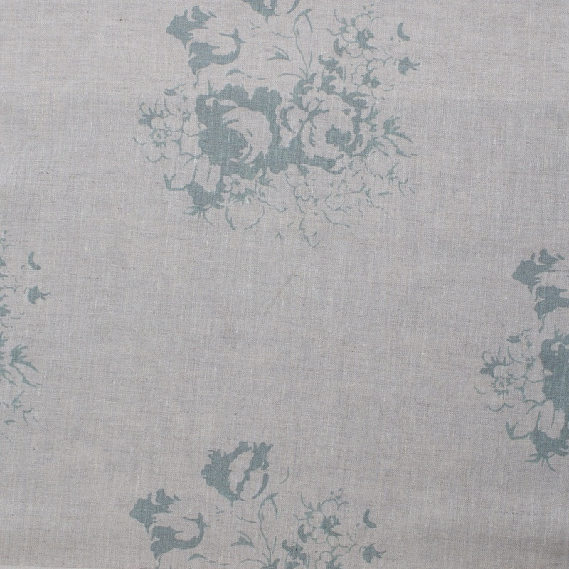 Cabbages & Roses Cushions - Natural Blue Hatley