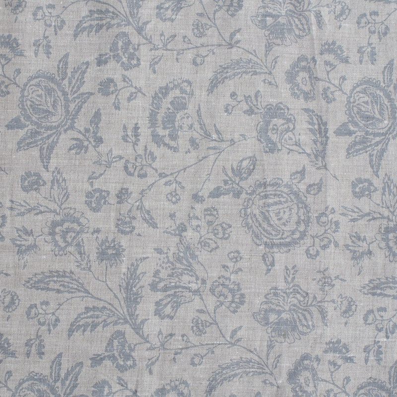 Cabbages & Roses Cushions - French Toile Provence Blue