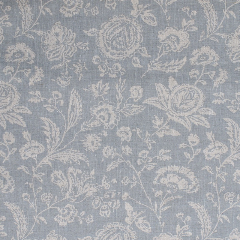 Cabbages & Roses Cushions - French Toile Blue