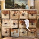 Antique Haberdashery Drawers