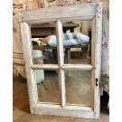 Antique Window Mirror