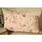 Antique French Quilted Cushion