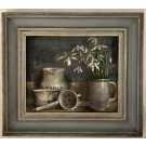 'Snowdrops in Vintage Frame' by Andrew Douglas-Forbes
