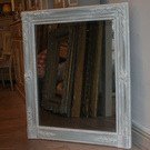 Antique Painted French Mirror - Restoration Period