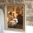 Antique French Crested Mirror