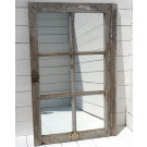 Antique French Mirrored Window