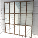 Superb Antique French Mirrored Window