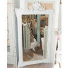 Large 19th Century Crested French Mirror