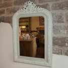 Antique French Torch & Quiver Mirror