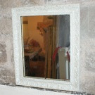 Antique French Mirror - Small