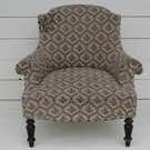 Antique French Chair for Re-upholstery