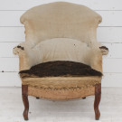 Antique French Armchair - Upholstery Inclusive