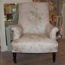 Antique Upholstered French Armchair - SIMILAR AVAILABLE