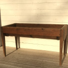 Antique French Grain Trough