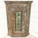 Antique Swedish Corner Cupboard