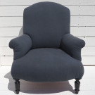 Antique French Upholstered Armchair