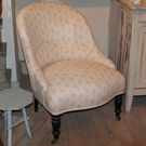 Antique French Tub Chair