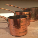 French Copper Saucepans