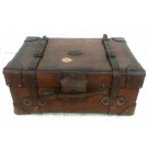 Antique Leather Trunk - J.W.Allen