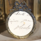 Antique French Photo Frame