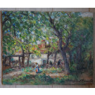 19thC French Impressionist Painting