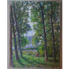 Antique French Painting
