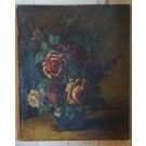 Antique French Painting.