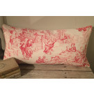 19thC French Toile De Joey Cushion