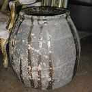 Antique French 'Biot' Pot