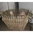 Vintage French Oyster Baskets