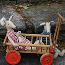 Childrens Vintage Mini Cart