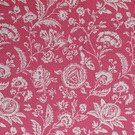 Cabbages & Roses Cushions - French Toile Raspberry