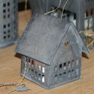 Walther & Co Zinc House Lantern - Small