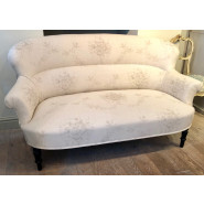 Antique French Sofa in Kate Forman Fabric