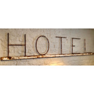 Antique French 'Hotel' Sign