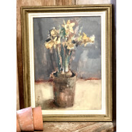 'A Little Pot of Daffs' by Andrew Douglas-Forbes